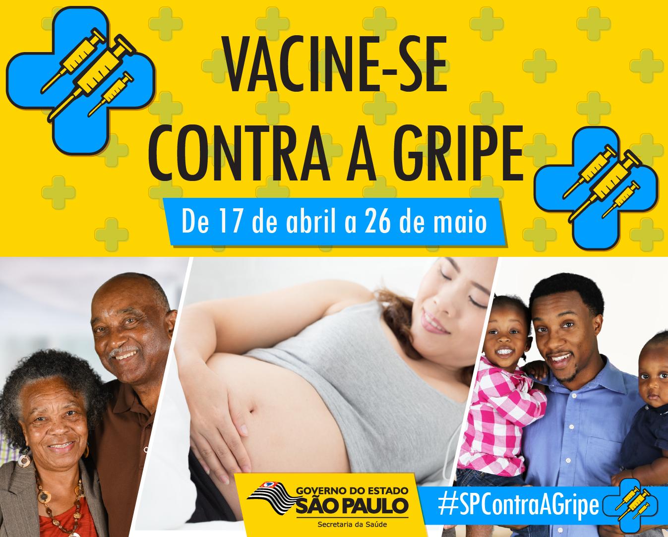 ??Ministério da Saúde prorroga campanha de vacinação contra gripe