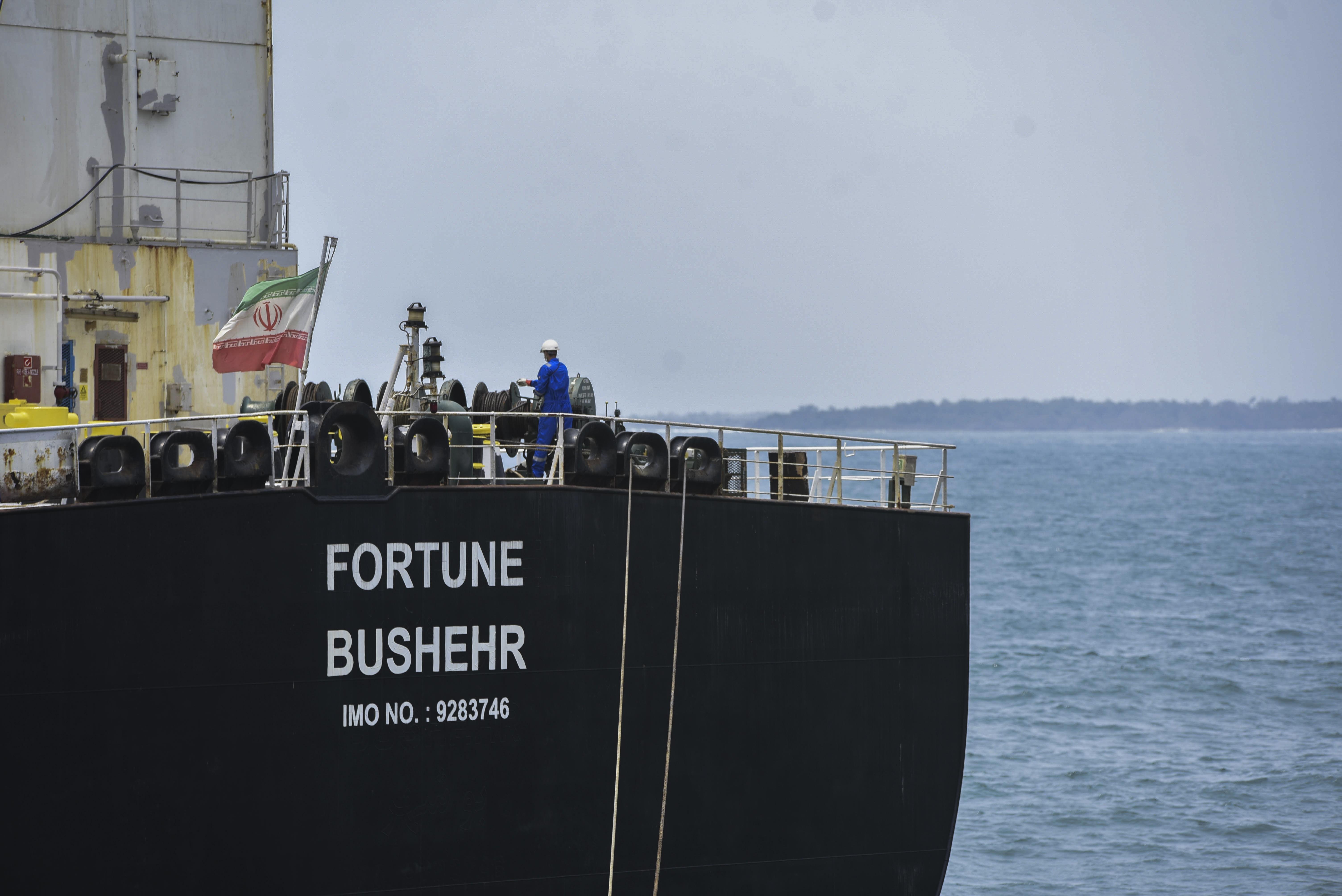 EUA apreendem combustível iraniano enviado à Venezuela