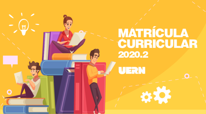UERN: Matrícula Curricular do semestre 2020.2 será realizada de 27 a 30 de janeiro de 2021