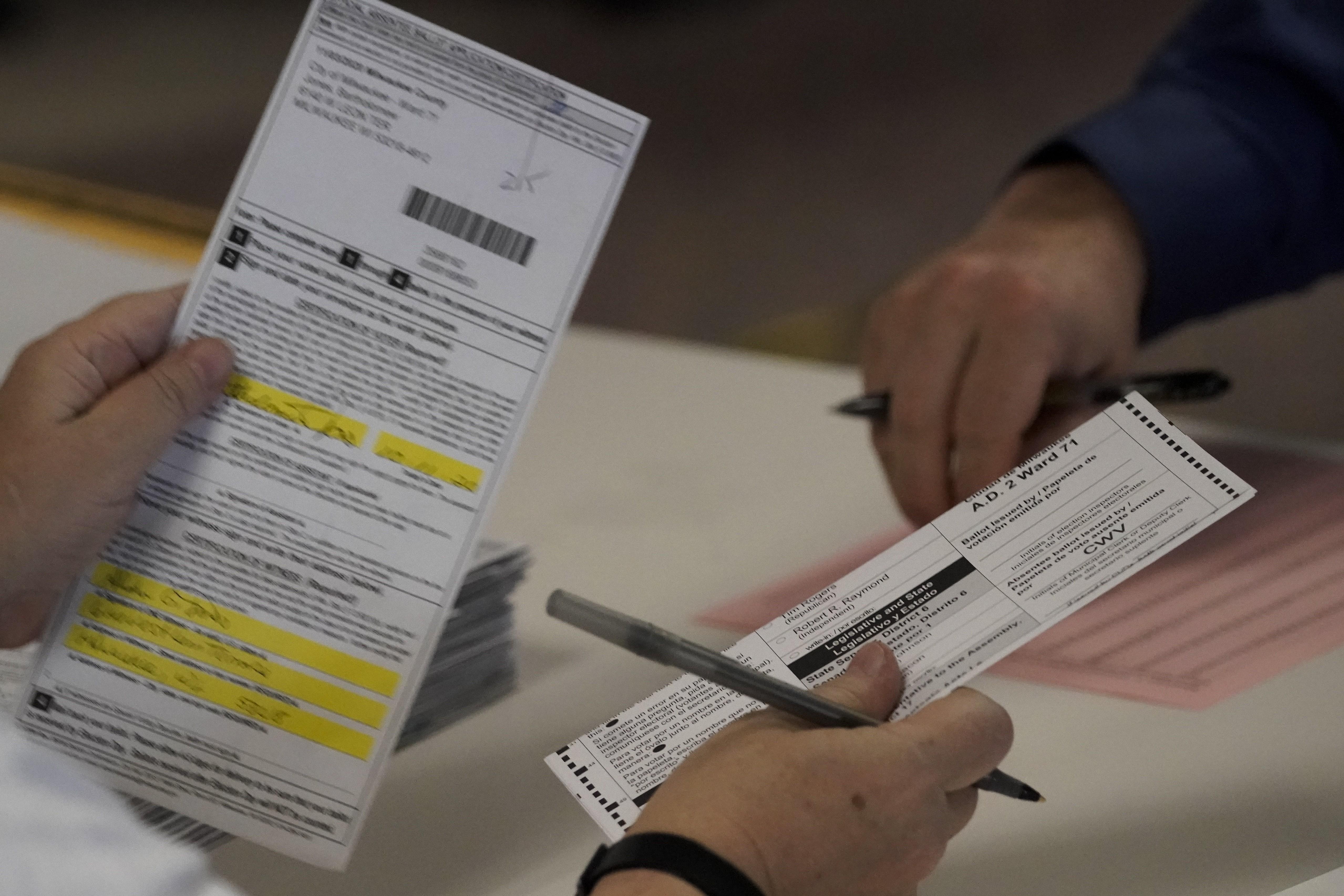 Recontagem de votos em Wisconsin confirma a vitória de Biden sobre Trump no estado