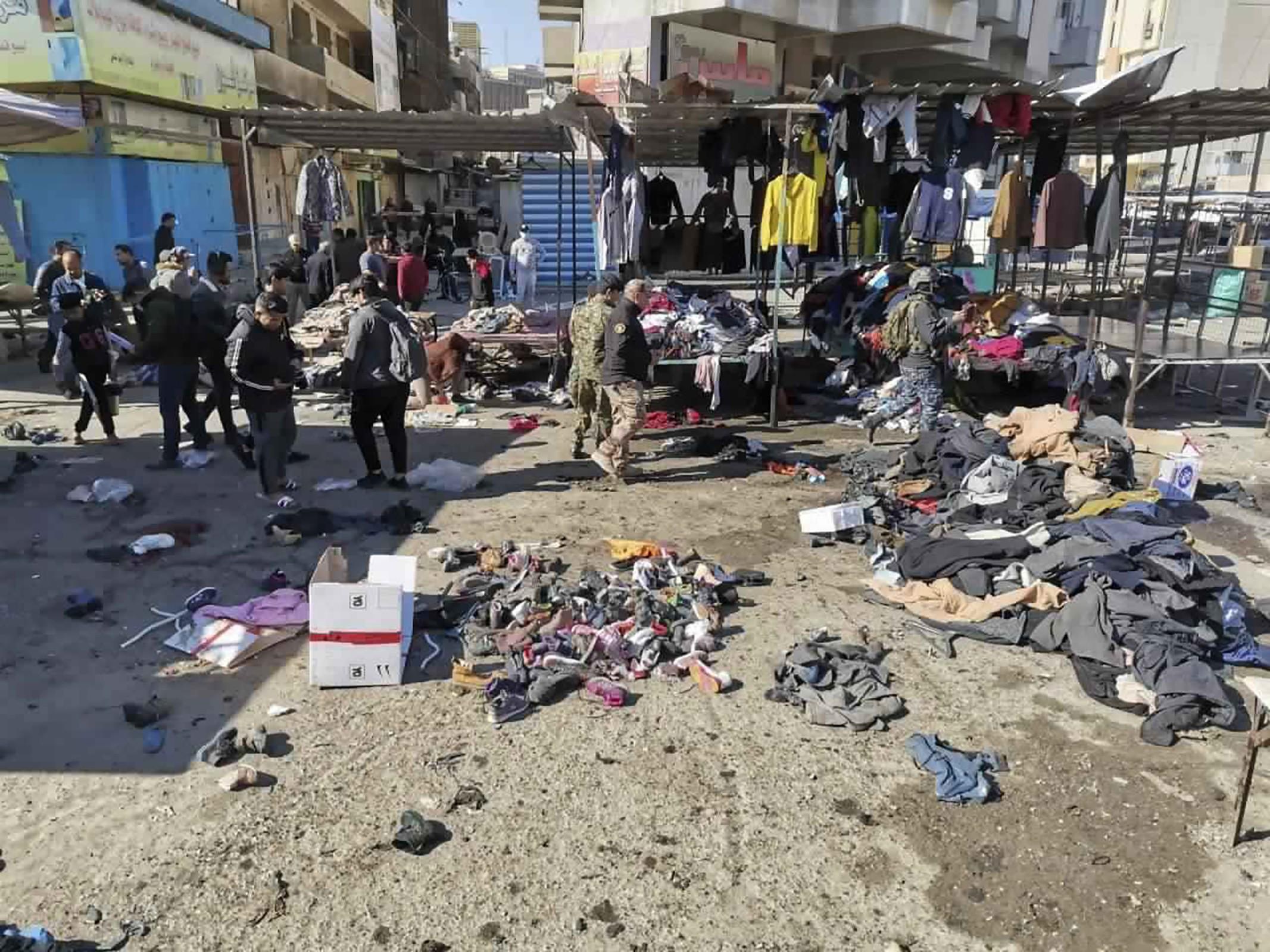 Ataques suicidas deixam mortos e feridos em Bagdá
