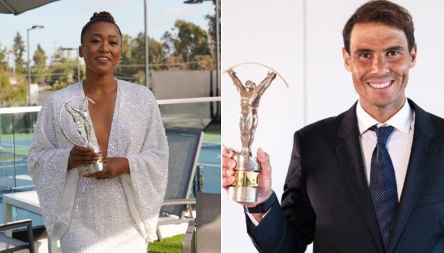 Prêmio Laureus: Naomi Osaka e Rafael Nadal vencem como melhores atletas de 2020