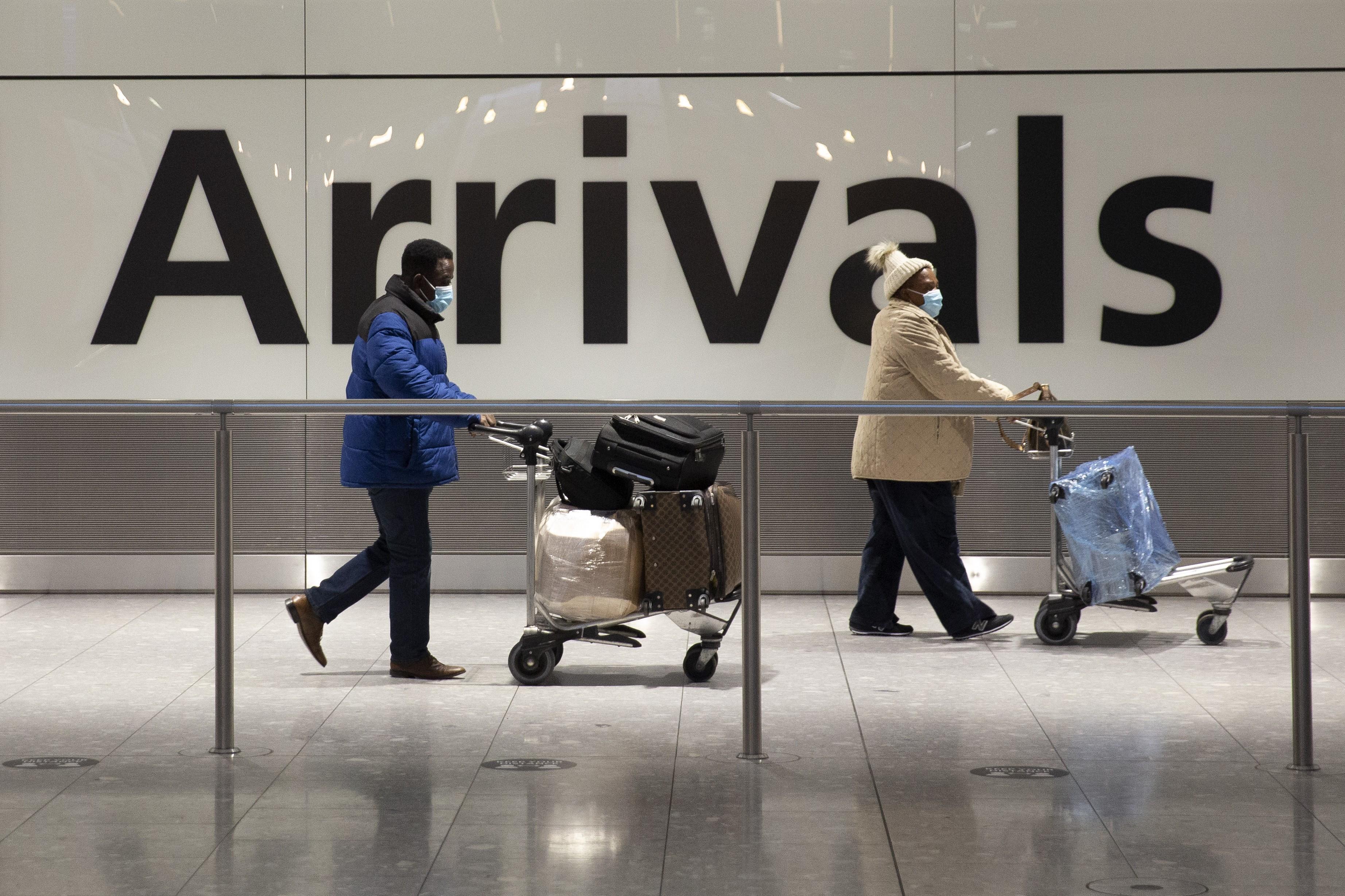 Reino Unido suspende restrições de viagens a Portugal, Gibraltar e Israel