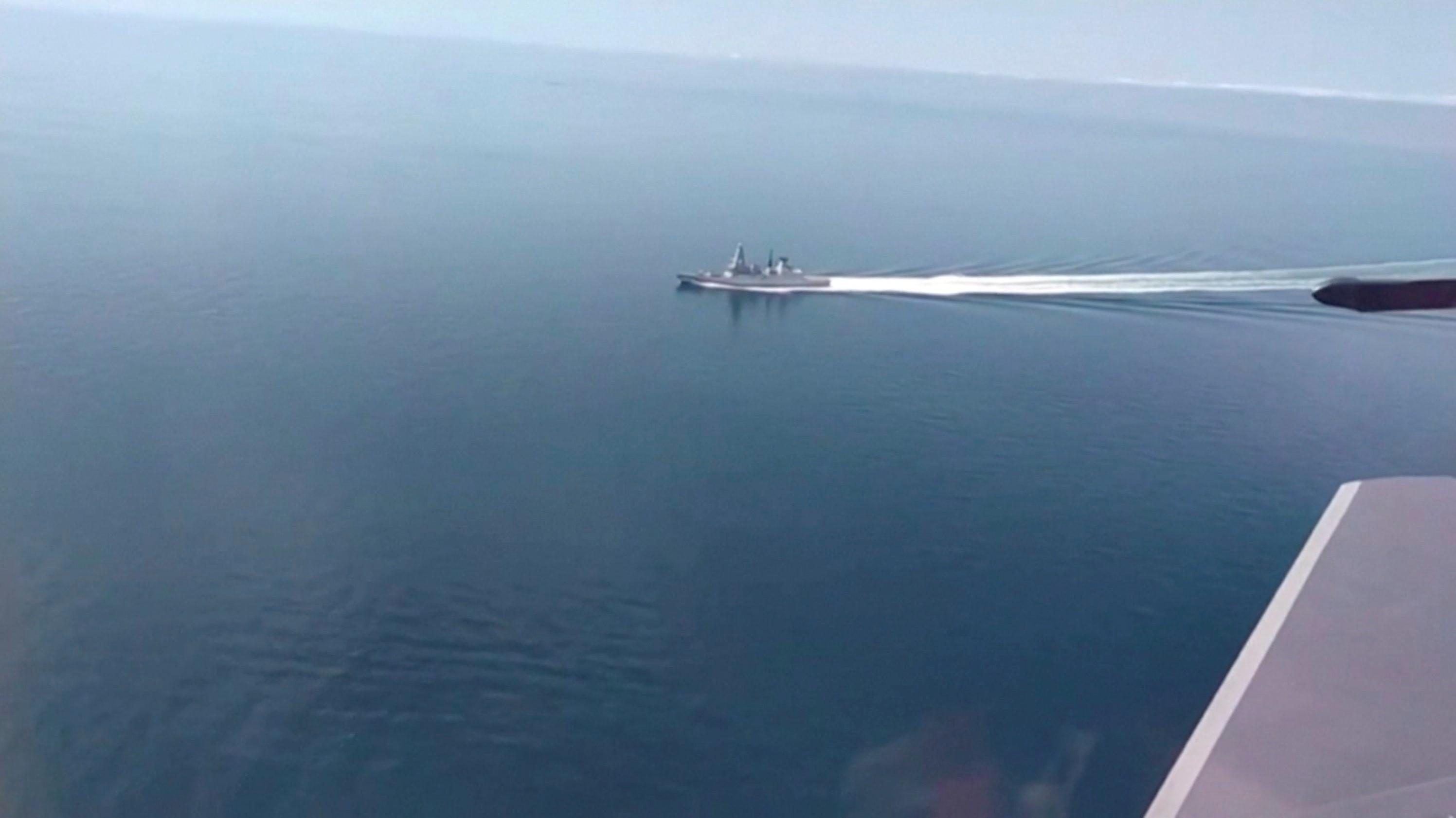 Rússia alerta Reino Unido a não voltar a provocá-la no Mar Negro