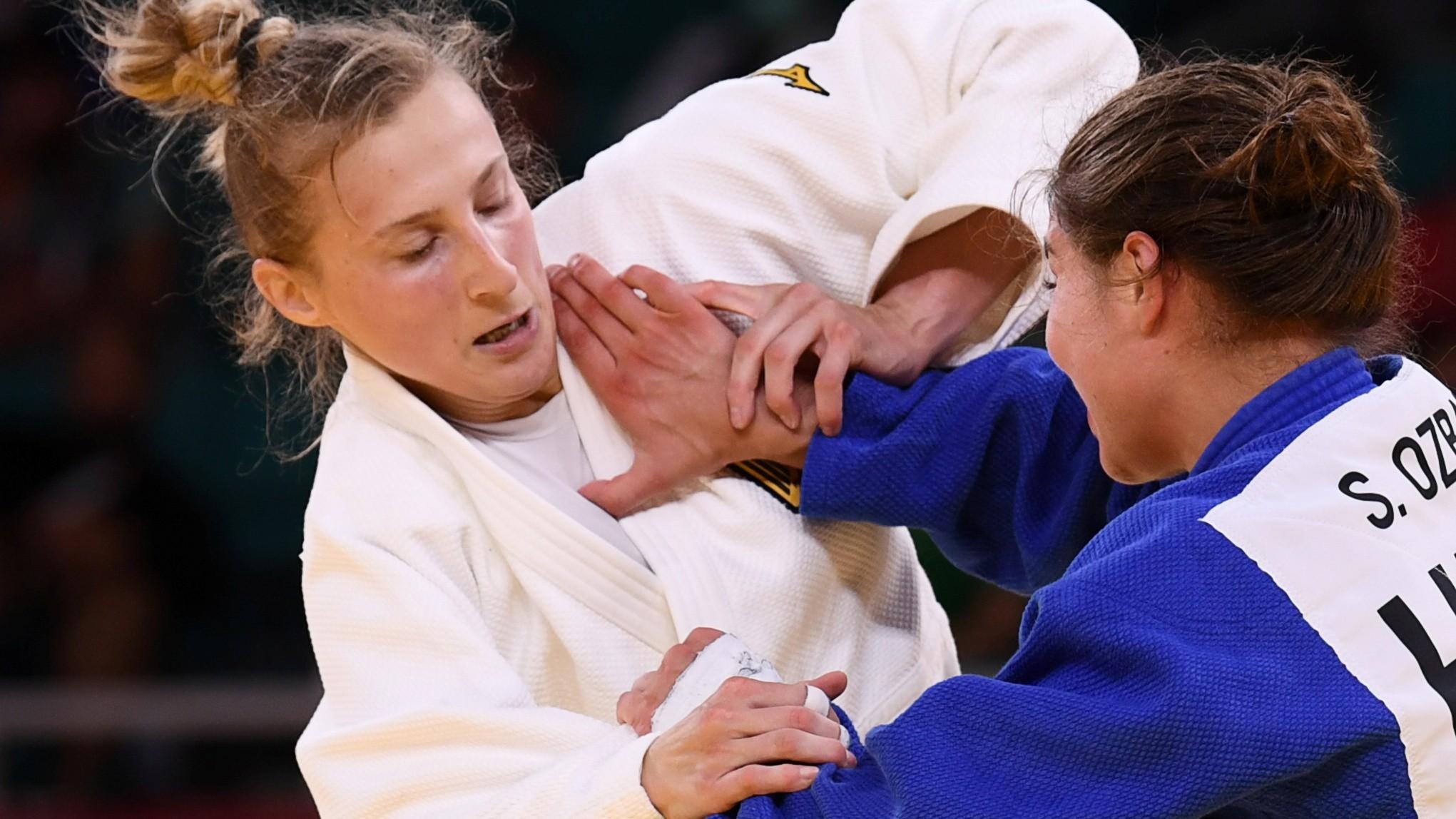 Judoca alemã defende técnico após ser 'estapeada' na Olimpíada; veja vídeo