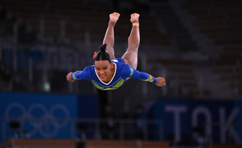 Rebeca Andrade, medalha de prata nas Olimpíadas de Tóquio: VEJA FOTOS da medalhista da ginasta artística
