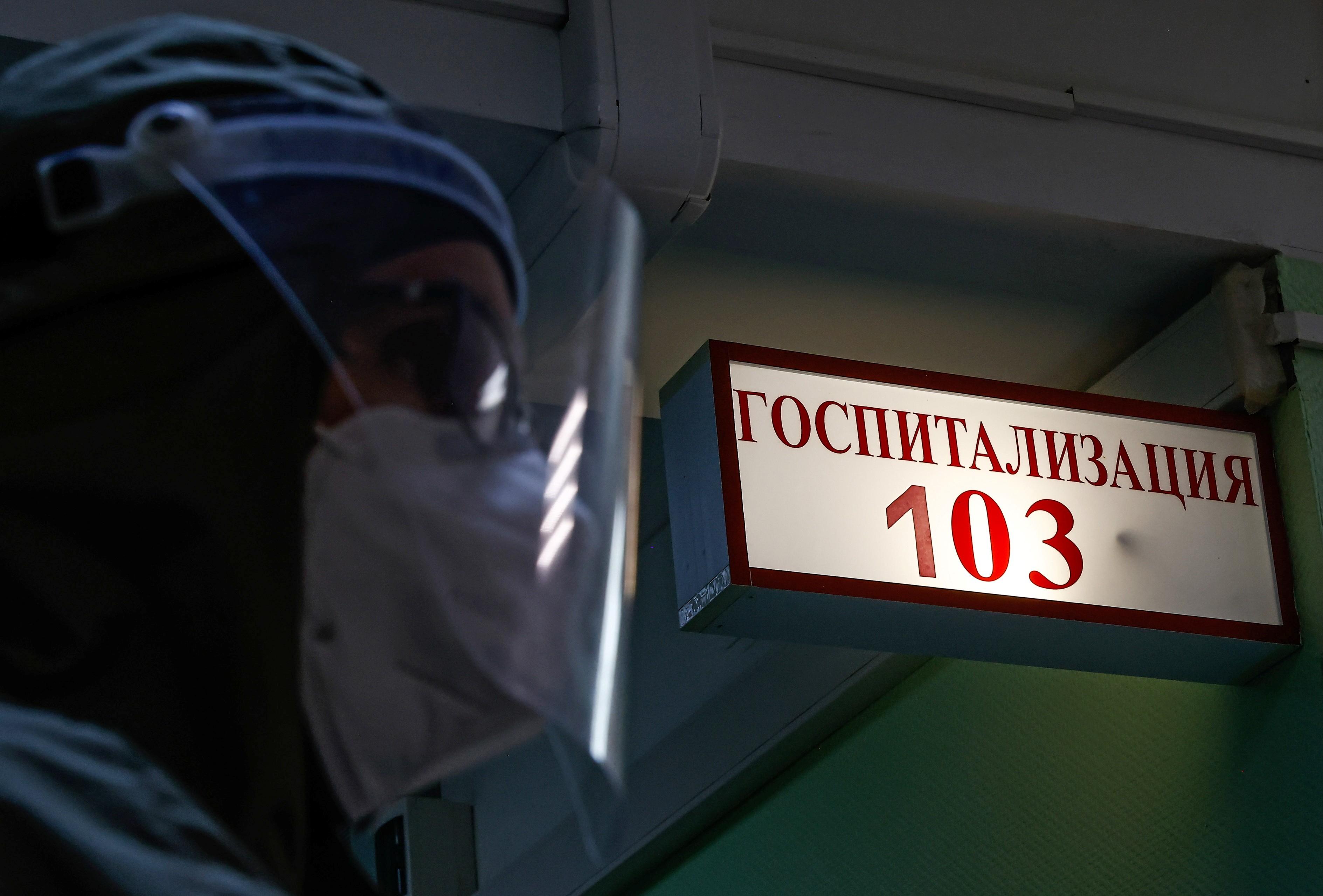 Rússia registra quinto recorde seguido de mortes por Covid-19